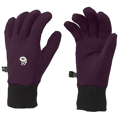 Mountain Hardwear Women's Power Stretch Glove DECENT FEATURES of the Mountain Hardwear Women's Power Stretch Glove Designed with woman's specific fit Flat-lock construction for a seamless fit Wear alone or use as a liner The SPECS Average Weight: 1.16 oz / 33 g Body: Polartec Power Stretch (88% polyester, 12% elastane) - $29.95