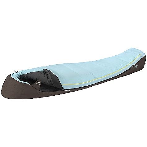 Camp and Hike Free Shipping. Mountain Hardwear Women's Switch 20F Sleeping Bag DECENT FEATURES of the Mountain Hardwear Women's Switch 20F Sleeping Bag Quantum expander zips open to add 8in.of girth to the bag. Keep it zipped closed and the comfortable mummy cut gives you maximum warmth. Zip it open for extra room or to make the bag sleep cooler on a warm night. The Quantum expander is a fully insulated panel, so no worries about cold spots, whether it's open or closed Keep it zipped closed and the comfortable mummy cut gives you maximum warmth Zip it open for extra room or to make the bag sleep cooler on a warm night The Quantum expander is a fully insulated Women-specific comfort mummy cut efficiently maximizes warmth without constriction, with extra insulation in the torso and foot areas Insulation has outstanding loft with excellent compressibility Face gasket and tailored hood comfortably block drafts at the hood opening and seal in warmth Comfort Footbox follows natural foot position for maximum warmth and comfort Nylon stuff sack included and mesh storage bag included Imported The SPECS Temperature Rating: 20deg F / -7deg C EN Comfort Rating: 34deg F / 1deg C EN Comfort Limit: 23deg F / -5deg C Extreme: -8deg F / -22deg C Loft Size: 5in. / 13 cm Stuffed Size: 8in. x 16in. / 20 x 41 cm Shell: 50D Nylon Taffeta Fill Type: Synthetic Insulation: Thermic Mx Lining: 50D Polyester Taffeta Bag Shape: Women's Comfort Mummy Cut The SPECS for Regular Fill Weight: 2 lbs / 0.91 kg Total Weight: 3 lbs 10 oz / 1.63 kg Inside Length: 70in. / 178 cm Shoulder Girth: 56in. / 142 cm Hip Girth: 56in. / 142 cm Foot Girth: 36in. / 91 cm The SPECS for Long Fill Weight: 2 lbs 8 oz / 1.12 kg Total Weight: 3 lbs 15 oz / 1.77 kg Inside Length: 76in. / 193 cm Shoulder Girth: 58in. / 147 cm Hip Girth: 58in. / 147 cm Foot Girth: 38in. / 97 cm - $164.95