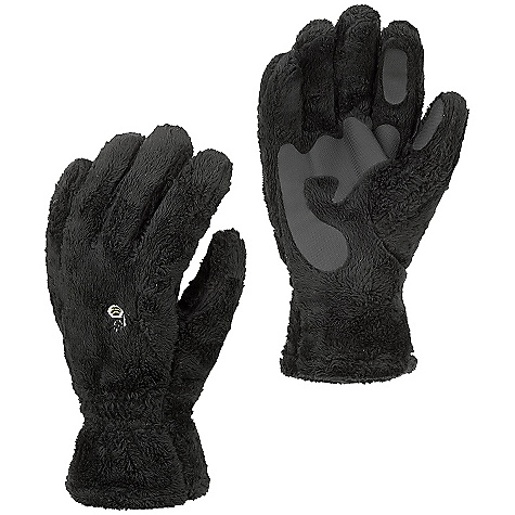 Mountain Hardwear Monkey Glove DECENT FEATURES of the Mountain Hardwear Monkey Glove Soft, warm, high-pile fleece provides a high warmthto-weight ratio Articulated cut for dexterity Welded palm and finger patches add wear resistance and enhance grip Wear alone or use as a spare liner with compatible system gloves or mitts Imported The SPECS Average Weight: 2.8 oz / 78 g Body: Double Shot velboa (100% polyester) Palm: Welded Polyurethane - $30.00