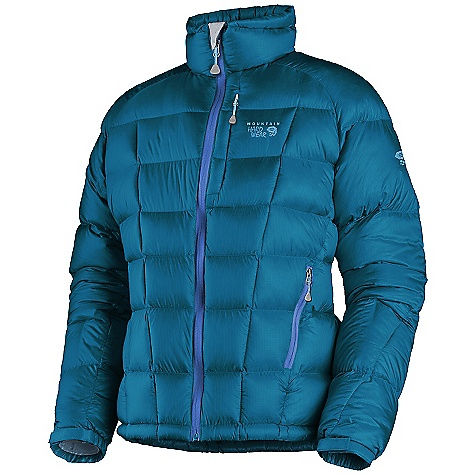 On Sale. Free Shipping. Mountain Hardwear Women's Phantom Jacket DECENT FEATURES of the Mountain Hardwear Women's Phantom Jacket Highest quality 800-fill goose down is lightweight and compressible Box quilt construction for superior loft and warmth Lots of pockets for storage options Adjustable Velcro cuffs and one-handed hem drawcords for quick fit adjustments AXF Super DWR finish repels water 5 times longer than standard DWRs Stuff sack included The SPECS Average Weight: 14 oz / 409 g Center Back Length: 26in. / 66 cm Fabric: Body: Lunar Ripstop AXF (100% nylon), Insulation: 800-Fill Goose Down - $181.99