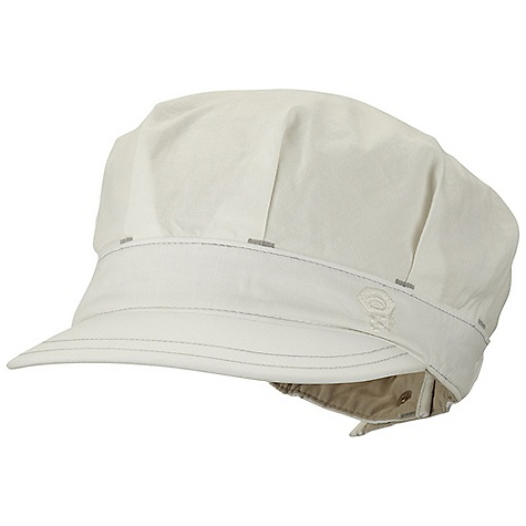 Mountain Hardwear Women's Hemp Brigade Hat DECENT FEATURES of the Mountain Hardwear Women's Hemp Brigade Hat Made from organic cotton and hemp fabrication Updated: Design 2in. brim Ponytail opening at back with elastic adjustment UPF 50 sun protection Imported The SPECS Average Weight: 2.5 oz / 70 g Body: Sandhills Slub (76% organic cotton, 24% hemp) Lining: Nylon Plainweave (100% nylon) - $29.95