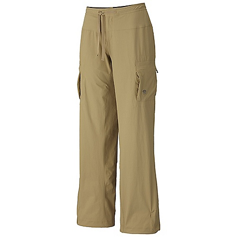 On Sale. Free Shipping. Mountain Hardwear Women's Yuma Pant DECENT FEATURES of the Mountain Hardwear Women's Yuma Pant Micro-Chamois-lined seamless conical waist for comfort under a pack Soft drawcord at waist for easy fit adjustments Secured zip, side leg cargo pockets for storage Full length inseam gusset for mobility Adjustable drawcord hidden inside hem to cinch pant leg The SPECS Average Weight: 11 oz / 325 g Inseam: 30, 32, 34in. / 76, 81, 86 cm Body: Switchback II Softshell (88% nylon, 12% elastane) - $37.99