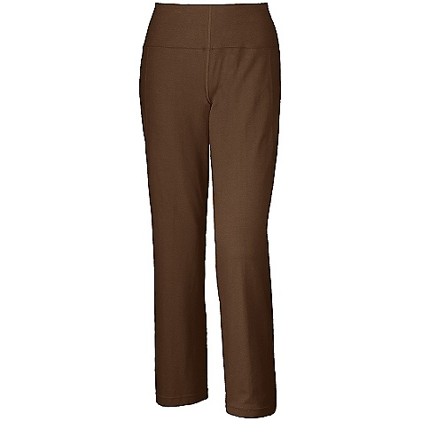 On Sale. Free Shipping. Mountain Hardwear Women's High Step Pant DECENT FEATURES of The Mountain Hardwear Women's High Step Pant Updated style lines, leg opening, and trim details Flat-lock seam construction eliminates chafe Wide low-profile waistband for comfort Inseam gusset for mobility Zipped secure pocket at side panel for storage The SPECS Average Weight: 9 oz / 258 g Center Back Length: 30.5in. / 77 cm Fabric: Body: V6 Jersey (91% organic cotton, 9% elastane) - $32.99