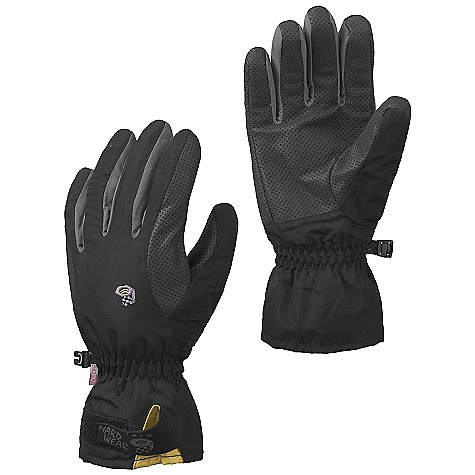 Entertainment Free Shipping. Mountain Hardwear Epic Glove DECENT FEATURES of the Mountain Hardwear Epic Glove OutDry Waterproof Technology: Extremely waterproof, totally windproof in.Extreme Precurvein. patterning with Kevlar stitching provides unprecedented fit and dexterity Brushed polyester tricot lining adds warmth and wicks moisture Durable, high-grip synthetic palm Articulated cut for a precise fit Short gauntlet with Velcro wrist closure The SPECS Average Weight: 3 oz / 90 g Body: Nylon ripstop (100% nylon) Laminate: Outdry Waterproof technology Palm: Synthetic grip palm (40% polyurethane, 39% polyester, 21% cotton - $59.95