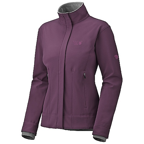On Sale. Free Shipping. Mountain Hardwear Women's Callisto Jacket DECENT FEATURES of the Mountain Hardwear Women's Callisto Jacket Updated design and fit Highly breathable, windproof Soft-shell Zip handwarmer pockets One-handed hem drawcords for quick fit adjustments Soft, in.Butter Jerseyin. cuffs Dual hem drawcords for quick fit adjustments Micro-Chamois -lined chin guard eliminates zipper chafe Imported The SPECS Average Weight: 1 lb 4 oz / 577 g Apparel Fit: Standard Center Back Length: 26.5in. / 67 cm Body: Deflection Soft Shell (100% polyester) - $96.99