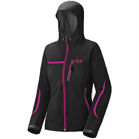 On Sale. Free Shipping. Mountain Hardwear Women's Emporia Jacket (Fall 2010) FEATURES of the Women's Emporia Jacket by Mountain Hardwear Trim, feminine alpine fit Micro-taped seams reduce weight Helmet-compatible hood with single-pull adjustment system and extra-beefy brim Welded watertight pockets and zips seal out moisture Chest-high hand pockets accommodate a harness or pack Articulated sleeves for mobility Micro-Chamois-lined chin guard eliminates zipper chafe Interior zip pocket for keys, ID, other small items SPECIFICATIONS: Avg Weight: 1 lb. / 440 g. (size medium) Center Back Length: 27.5in. / 70 cm. Ratings: Waterproofness: 28,000 mm., Breathability / MVTR: 30,000 g./m2 Materials: Body: FTX ProShell (100% nylon) Laminate: Gore-Tex Pro Shell - $298.99
