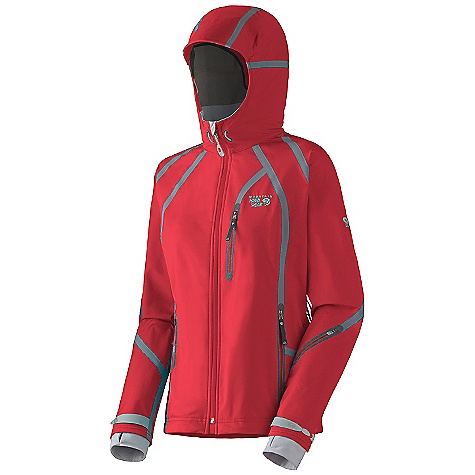Ski On Sale. Free Shipping. Mountain Hardwear Women's Synchro Ski Jacket (Fall 2010) FEATURES of the Women's Synchro Ski Jacket by Mountain Hardwear New design AXF Super DWR finish repels water 5 times longer than standard DWRs Exterior-taped, water-resistant seams seal out the elements Welded hand and chest pockets with water resistant zippers Welded, superlight pit zips offer ventilation Plenty of interior pockets for all your gear One-handed hood and hem drawcords for quick adjustments Soft, in.butter jerseyin. cuffs Zip handwarmer pockets Removable, adjustable, stretch powder skirt Ski pass key reel and lift ticket ring on hem Molded Velcro cuff tabs seal in warmth SPECIFICATIONS: Avg Weight: 1 lb. 10 oz. / 737 g. (size medium) Center Back Length: 26.5in. / 67 cm. Materials: Body: Synchro SBT AXF (50% nylon, 50% polyester) Laminate: Canduit Softshell - $199.99