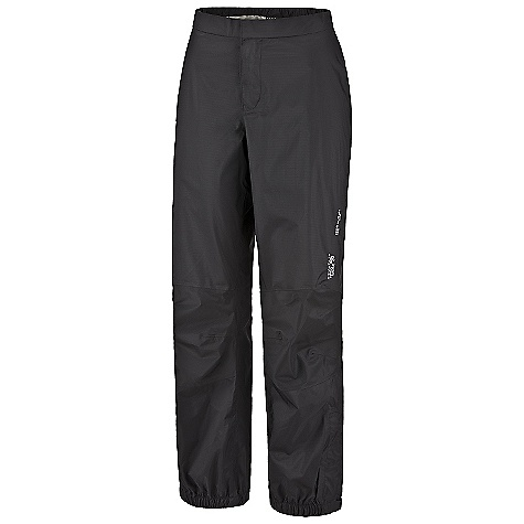 Free Shipping. Mountain Hardwear Women's Epic Pant DECENT FEATURES of the Mountain Hardwear Women's Epic Pant Partial elastic waist for comfort Articulated knees for mobility 9in. Ankle zips for easy on/off Imported The SPECS Average Weight: 8 oz / 221 g Inseam: 32in. / 81 cm Laminate: Dry.Q Core Body: Ark Ripstop 2.5 (100% nylon) - $89.95