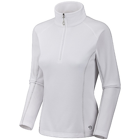 On Sale. Free Shipping. Mountain Hardwear Women's Micro Chill Zip T DECENT FEATURES of the Mountain Hardwear Women's Micro Chill Zip T High-cut collar with 11in. zip for thermoregulation Flat-lock construction eliminates chafe Imported The SPECS Average Weight: 7.4 oz / 210 g Center Back Length: 25in. / 64 cm Body: Velous Micro Fleece (100% polyester) - $26.99