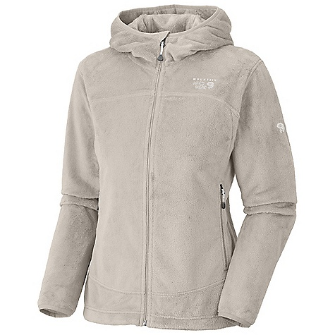 On Sale. Free Shipping. Mountain Hardwear Women's Pyxis Hoody DECENT FEATURES of the Mountain Hardwear Women's Pyxis Hoody Soft, warm and luscious fleece Zip hand warmer pockets Dual hem drawcords for quick fit adjustments Fleece-lined chin guard prevents zipper chafe The SPECS Average Weight: 14.7 oz / 417 g Center Back Length: 26in. / 66 cm Body: Voluptuous Velboa (100% polyester) - $83.99