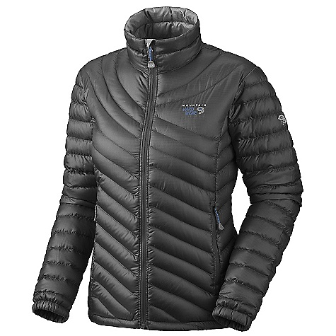 On Sale. Free Shipping. Mountain Hardwear Women's Nitrous Jacket DECENT FEATURES of the Mountain Hardwear Women's Nitrous Jacket Quilted construction holds insulation in place Two front hand warmer pockets Dual hem draw cords seal in warmth Full elastic cuffs slide easily over layers to seal in warmth Micro-Chamois-lined chin guard prevents zipper chafe DWR finish repels water The SPECS Average Weight: 9.9 oz / 281 g Center Back: 25in. / 64 cm Body: Sensor 30D Ripstop (100% polyester) Insulation: Piumino 800-Fill goose Down - $130.99
