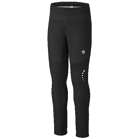 On Sale. Free Shipping. Mountain Hardwear Men's Effusion Power Tight DECENT FEATURES of the Mountain Hardwear Men's Effusion Power Tight Microclimate Zoningin. Construction: Mesh panels for increased breathabllity Face Fabric: Windproof and water resistant DWR finish repels water Highly luminescent reflective print for ultimate visibility Soft drawcord at waist for easy fit adjustments The SPECS Average Weight: 9 oz / 262 g Inseam: 29in. / 74 cm Body: Active Solutionin. 20D 3L Jersey 100% polyester Panel: Stretch Techin. Terry 65% nylon, 22% polyester, 13% elastane - $64.99