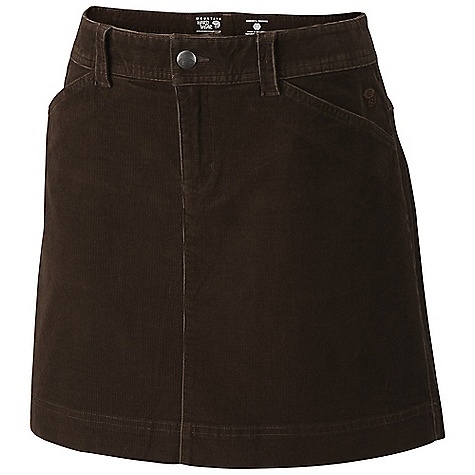 On Sale. Free Shipping. Mountain Hardwear Women's Tunara Cord Skirt DECENT FEATURES of the Mountain Hardwear Women's Tunara Cord Skirt Lots of pockets for storage Center back tab and buckle detail The SPECS Apparel Fit: Semi-Fitted Average Weight: 12.8 oz / 363 g Outseam: 19in. / 48 cm Body: Tendall Stretch cord (99% cotton, 1% elastane) - $34.99
