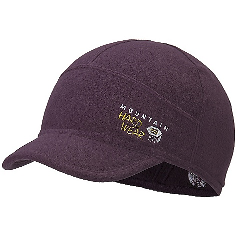 On Sale. Mountain Hardwear Women's Micro Chill Cap DECENT FEATURES of the Mountain Hardwear Women's Micro Chill Cap Velous Micro Fleece is extremely lightweight and warm 2in. brim for full face coverage Foam brim with moldable edge is lightweight and packable Snug fit for use under a hood or helmet The SPECS Average Weight: 1 oz / 35 g Fabric: Body: Velous Micro Fleece (100% polyester) - $14.99