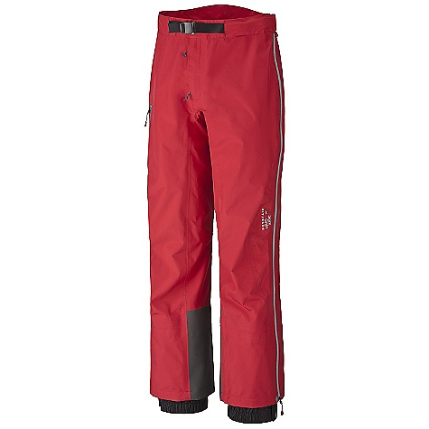 On Sale. Free Shipping. Mountain Hardwear Men's Bokta Pant DECENT FEATURES of the Mountain Hardwear Men's Bokta Pant Adjustable waist with integrated belt for a custom fit Removable suspenders with drop seat functionality Full length water resistant leg zippers Four sliders for venting Abrasion-resistant scuff guard for extra protection Thigh pocke Internal snow gaitor The SPECS Average Weight: 1 lb 6 oz / 616 g Inseam: 30in. / 76 cm, 32in. / 81 cm, 34in. / 86 cm Body: DRY.Q Elite 70D 3L Laminate: DRY.Q Elite - $223.99