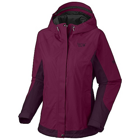 On Sale. Free Shipping. Mountain Hardwear Women's Nazca Jacket DECENT FEATURES of the Mountain Hardwear Women's Nazca Jacket Brushed-tricot-lined body for a little extra warmth Fully adjustable, attached hood Water-resistant pit zips Adjustable cuff and hem Zip handwarmer pockets The SPECS Average Weight: 1 lb 4 oz / 565 g Center Back Length: 27in. / 69 cm Body: Dry.Q 2L Dobby 100% nylon - $136.99