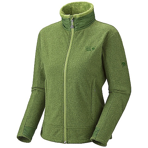 On Sale. Free Shipping. Mountain Hardwear Women's Deflection Fleece Jacket DECENT FEATURES of the Mountain Hardwear Women's Deflection Fleece Jacket Soft, wind resistant fleece Zip handwarmer pockets Dual hem drawcords for quick fit adjustments Fleece-lined chin guard prevents zipper chafe The SPECS Average Weight: 1 lb 3 oz / 544 g Center Back Length: 25.5in. / 65 cm Fabric: Body: Heather Deflection Fleece (100% polyester) - $85.99