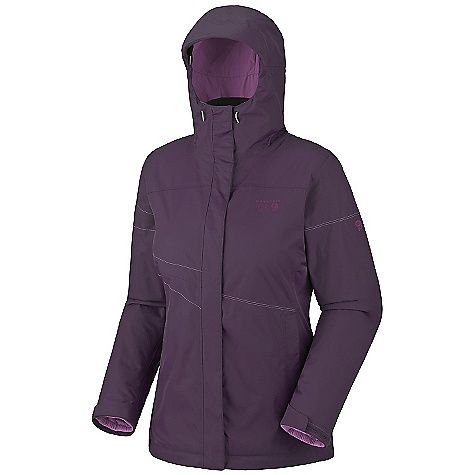 On Sale. Free Shipping. Mountain Hardwear Women's Main Street Trifecta 3-In-1 Jacket DECENT FEATURES of the Mountain Hardwear Women's Main Street Trifecta 3-In-1 Jacket Fully adjustable, attached hood Zip handwarmer pockets Adjustable cuffs for fit options One handed hood and hem drawcords for quick adjustments Micro-Chamois-lined chin guard eliminates zipper chafe Fleece-lined zip handwarmer pockets Dual hem drawcords for quick fit adjustments Low profile elastic cuffs for easy layering The SPECS for Shell Average Weight: 1 lb 4 oz / 557 g Center Back Length: 28.5in. / 72 cm Fabric: Body: Twill 2L (100% nylon) The SPECS for Liner Average Weight: 14 oz / 390 g Center Back Length: 25.5in. / 65 cm Fabric: Body: 30D Micro Taffeta (100% nylon), Insulation: Thermic Micro - $177.99
