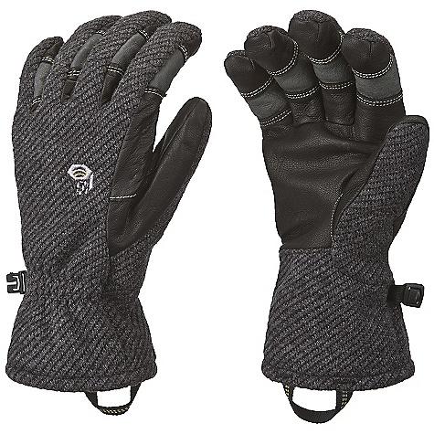 Entertainment On Sale. Free Shipping. Mountain Hardwear Women's Gravity Glove DECENT FEATURES of the Mountain Hardwear Women's Gravity Glove Designed to fit a woman's smaller hand proportions New in.Extreme Precurvein. patterning with Kevlar stitching provides unprecedented fit and dexterity New Poly/Wool wind-blocking fleece with Airshield Technology blocks wind and cold Durable water-resistant goatskin palm and fingers Brushed polyester tricot lining adds warmth and wicks moisture Elastic at back of wrist for a snug fit Pull-on webbing loop at wrist The SPECS Average Weight: 3.3 oz / 93 g Body: Gravity Fleece (54% polyester, 32% acrylic, 8% PU, 6% wool) Laminate: AirShield Elite Lining: Brushed Tricot (100% Polyester) Palm: Water-resistant Goatskin Leather - $43.99