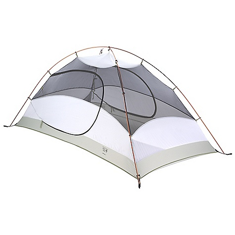 Camp and Hike Free Shipping. Mountain Hardwear Drifter 3 Person Tent DECENT FEATURES of the Mountain Hardwear Drifter 3 Person Tent UPDATED: DAC Pressfit poles Industry leading DAC Pressfit poles Guaranteed watertight construction with fully taped fly, taped perimeter seam, welded corners and welded guy clip anchors Rain room tested with 1200in. of rain in 24 hours Two mesh/canopy doors with dual-slider zipper for easy entry and exit Reflective guy-out loops, starter point and zipper pulls for easy set-up at night Pitch Light configuration allows user to set up a super light shelter using only the tent fly, poles and footprint (sold separately) Bar tacks on grommet tabs are color coded to poles for easy set up Mesh storage pockets Gear loft (included) provides convenient storage The SPECS Capacity: 3 Person Pitch Type: Freestanding Minimum Weight: 5 lbs 3 oz / 2.35 kg Pitchlight Weight: 3 lbs 13 oz / 1.73 kg Floor Area: 43 square feet / 4.0 square meter Canopy: 68D Polyester Ripstop DWR (100% polyester)/20D Nylon Knit Mesh (100% nylon) Fly: 75D Polyester Taffeta 1500mm PU Floor: 70D Nylon Taffeta 3000mm PU Poles: DAC Pressfit Packed Weight: 5 lbs 15 oz / 2.67 kg Vestibule Area: 10+10 square feet / 0.9+0.9 square meter Interior Peak: 47in. / 119 cm Number of Pole: 2 Doors: 2 Vestibules: 2 Packed Size: 7 x 26in. / 18 x 66 cm - $234.95