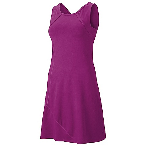 Entertainment Free Shipping. Mountain Hardwear Women's Loess Dress DECENT FEATURES of the Mountain Hardwear Women's Loess Dress Update: style lines, thinner neck binding, pocket placement Integrated shelf bra for support Flattering scooped neckline Flat-lock seam construction eliminates chafe The SPECS Apparel Fit: Fitted Usage: Comfy cotton and hidden zip pocket make this dress perfect to just in.goin. Apparel Fit: Fitted Weight: 11.5 oz / 327 g Center Back Length: 37in. / 94 cm Body: V6 Stretch Jersey - $64.95