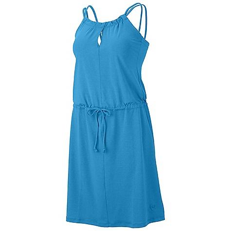 Entertainment On Sale. Free Shipping. Mountain Hardwear Women's Lucania Dress DECENT FEATURES of the Mountain Hardwear Women's Lucania Dress Dri-Release blended yarns wick moisture and minimize odor Low profile waistband with drawstring adjustment Flat-lock seam construction eliminates chafe The SPECS Apparel Fit: Semi-Fitted Average Weight: 8.1 oz / 229 g Center Back: 33in. / 84 cm Body: Locator Pass stretch Jersey (80% polyester, 14% cotton, 6% elastane) - $51.99