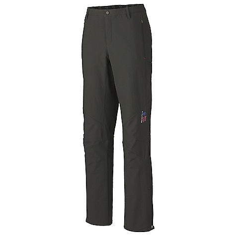 On Sale. Free Shipping. Mountain Hardwear Women's Sultana Pant FEATURES of the Mountain Hardwear Women's Sultana Pant Elastic waist band with belt loops for customized fit Zippered hand pockets Articulated knees Zippered gussets at hem - $103.99