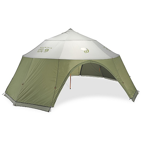 Camp and Hike Free Shipping. Mountain Hardwear Yurtini 10 Person Tent The SPECS Capacity: 10 Person Minimum Weight: 17 lbs 12 oz / 8.04 kg Pitch Type: Freestanding Packed Weight: 18 lbs 10 oz / 8.43 kg Floor Area: 19.3 square meter / 208 square feet Interior Pick: 95in. / 241 cm Pole Num: 3 Doors: 3 Packed Dimension: 10 x 34in. / 25 x 86 cm Fly: 75D Polyester Taffeta 1500mm PU (100% polyester) Poles: DAC Pressfit poles - $1,499.95