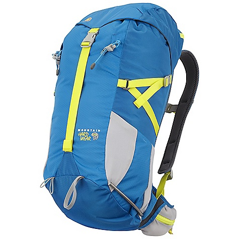 Climbing Free Shipping. Mountain Hardwear Scrambler TRL 30L Pack DECENT FEATURES of the Mountain Hardwear Scrambler TRL 30L Pack CoolWave suspension maintains fit and ventilation regardless of load Top loader with zippered top pocket to keep smaller gear handy Zippered pockets on ventilated hipwings keep essentials handy Side mesh pockets keep water bottles and other gear handy Carry loops for ice axes and trekking poles Side compression straps control the load Fully padded spacer mesh shoulder straps provide excellent fit and comfort The SPECS Weight: 1 lb 10 oz / 740 g Capacity: 1810 cubic inches / 30 liter Torso Range: 16.0in. - 22.0in. / 41 - 56 cm - $99.95