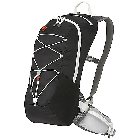Camp and Hike Free Shipping. Mountain Hardwear Fluid 12L Pack DECENT FEATURES of the Mountain Hardwear Fluid 12L Pack HardWave framesheet keeps backpanel flat for a stable fit and is removable to reduce weight OTF (On-The-Fly) compression adds load stability by simply tightening the hipbelt Full wrap breathable hipbelt with two zippered pockets Ventilated and soft edge shoulder straps are comfortable on bare skin Bungee helps secure overloads and compress pack's load Quick access zip pocket on top of pack with fleece-lined sunglass pocket Super stretchy mesh side pockets offer quick storage/access for water bottles or gear Hydration sleeve inside main compartment with dual ports The SPECS Body: 100D HT Ripstop Dobby Nylon Accent: HexWall Mesh The SPECS for S/M Weight: 13.9 oz / 395 g Capacity: 730 cubic inches / 12 liter Torso Range: 16.0in. - 19.0in. / 41 - 48 cm Waist Belt Size: 28.0in. - 34.0in. / 71 - 86 cm The SPECS for M/L Weight: 15.9 oz / 450 g Capacity: 850 cubic inches / 14 liter Torso Range: 18.5in. - 22.0in. / 47 - 56 cm Waist Belt Size: 33.0in. - 39.0in. / 84 - 99 cm - $79.95