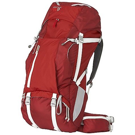 Camp and Hike On Sale. Free Shipping. Mountain Hardwear Wandrin 32L Pack DECENT FEATURES of the Mountain Hardwear Wandrin 32L Pack AirMotion suspension offers flow through ventilated backpanel and ventilated shoulder straps Top loader with side zipper for additional access to upper pack Convenient pull out rain cover stores in lower compartment and keeps your gear dry Easy access lower compartment with room for a light sleeping bag or other gear Comfortable, fully padded hipbelt with two zippered pockets to keep small gear handy Dedicated hydration sleeve with dual zips allows tube to exit right or left Fixed top zippered pocket and zippered mesh security pocket with key clip underneath keeps essentials handy The SPECS Body: 420D HD Nylon Accent: 210D HexNut Ripstop Nylon Bottom: 420D HD Nylon The SPECS for S/M Weight: 2 lbs 14 oz / 1.30 kg Capacity: 1950 cubic inches / 32 liter Torso Range: 16.0in. - 19.0in. / 41 - 48 cm Waist Belt Size: 28.0in. - 34.0in. / 71 - 86 cm The SPECS for M/L Weight: 3 lbs 1 oz / 1.39 kg Capacity: 2150 cubic inches / 35 liter Torso Range: 18.5in. - 22.0in. / 47 - 56 cm Waist Belt Size: 33.0in. - 39.0in. / 84 - 99 cm - $119.99