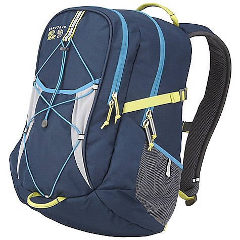 Free Shipping. Mountain Hardwear Salida Pack DECENT FEATURES of the Mountain Hardwear Salida Pack Tough 600D oxford poly body panels combine with padded bottom and fully bound seams to ensure durability and long life Fully padded back panel and shoulder straps with spacer mesh provide comfortable cushioning and ventilation Front pocket organizer keeps frequently-used items handy and includes two padded pockets ideal for delicate electronics Roomy main compartment with burly #10 YKK zip and multifunction hydration/laptop sleeve Stretch front stash pocket with elastic cord web on front panel handles all kinds of overloads, keeps gear handy Side compression straps provide load control Side mesh pockets with Reflective tabs keep water bottles handy Sternum strap and removable webbing waistbelt add stability when needed The SPECS Weight: 1 lb 14 oz / 860 g Capacity: 1810 cubic inches / 30 liter Body: 600D Polyester Oxford Bottom: 600D Polyester Oxford - $89.95
