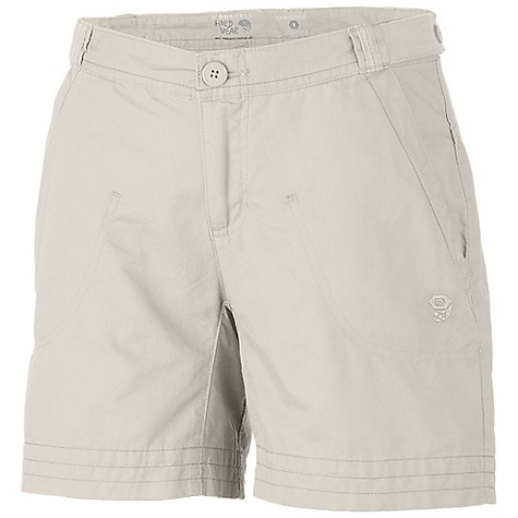 On Sale. Free Shipping. Mountain Hardwear Women's Sandhills Short DECENT FEATURES of the Mountain Hardwear Women's Sandhills Short Update: rear pocket construction Fabric combines the strength of hemp with the softness of cotton Low rise cut and low-profile waist for comfort Inner waist drawcord for fit adjustments Full length inseam gusset for mobility Lots of pockets for storage The SPECS Apparel Fit: Relaxed Average Weight: 6.3 oz / 178 g Inseam: 5.5in. / 14 cm Body: Sandhills Slub (76% organic cotton, 24% hemp) - $35.99