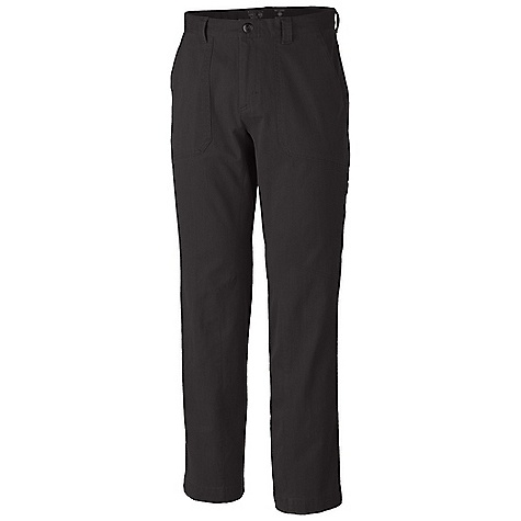 Free Shipping. Mountain Hardwear Men's Loafer Pant DECENT FEATURES of the Mountain Hardwear Men's Loafer Pant Durable, Wrinkle-resistant, stretch fabric Secure zip pocket for passport and essential items Full-length inseam gusset The SPECS Average Weight: 1 lb 3 oz / 531 g Inseam: 30, 32in. / 76, 81 cm Body: Loafer Stretch Bedford Cord 77% cotton,20% polyester, 3% elastane - $74.95