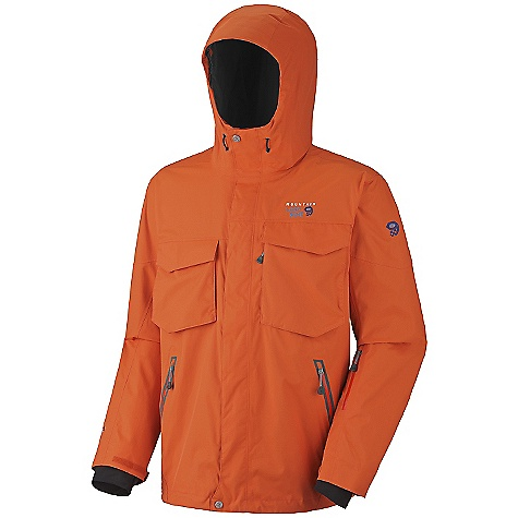 On Sale. Free Shipping. Mountain Hardwear Men's Frenetic Jacket DECENT FEATURES of the Mountain Hardwear Men's Frenetic Jacket Attached stretch powder skirt Soft, in.Butter Jerseyin. cuffs One-handed hood and hem drawcords for quick adjustments Zip handwarmer pockets Plenty of interior pockets for all your gear Micro-Chamois-lined chin guard eliminates zipper chafe The SPECS Average Weight: 1 lb 16 oz / 0.90 kg Center Back Length: 30in. / 76 cm Fabric: Body: Downhill Twill 2L (100% nylon) - $148.99
