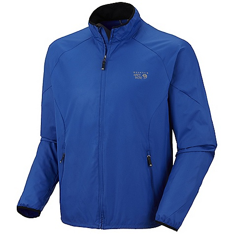 On Sale. Free Shipping. Mountain Hardwear Men's Apparition Jacket DECENT FEATURES of the Mountain Hardwear Men's Apparition Jacket Wick.Qin. EVAP wicks faster and makes fabric feel and makes fabric feel drier man traditional wicking fabrics Zlppered hand pockets One-handed hem drawcord seals in warmth Full front zipper with chin guard for comfort Reflective trim for visibility The SPECS Average Weight: 6 oz / 173 g Center Back Length: 28in. / 71cm Body: wick.Qin. EVAP Apparition Windshell 100% polyester - $66.99