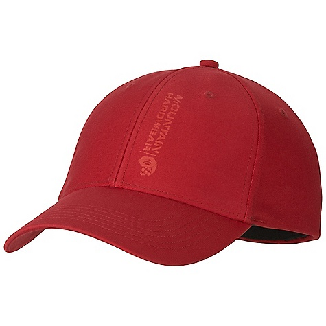 Mountain Hardwear Vertical Ball Cap DECENT FEATURES of the Mountain Hardwear Vertical Ball Cap Durable organic cotton canvas body Eyelets at crown provide ventilation Stretch fit for comfort The SPECS Average Weight: 3.6 oz / 102 g Body: Stretch Cotton Twill (97% Cotton, 3% Elastane) - $27.95