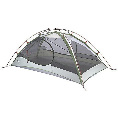 Camp and Hike On Sale. Free Shipping. Mountain Hardwear Skyledge 2.1 Tent DECENT FEATURES of the Mountain Hardwear Skyledge 2.1 Tent Industry leading DAC Featherlight NSL poles Guaranteed watertight construction with fully taped fly, taped perimeter seam, welded corners and welded guy clip anchors Proprietary Evolution Tension Arch stabilizes tent using fewer poles Two dry entry vestibules with dual slider mesh doors Pitch Light configuration allows user to set up a super light shelter using only the tent fly, poles and footprint (sold separately) SVX window for a brighter interior and visibility of exterior conditions Welded zipper flap construction is lighter and drier than a sewn flap Mesh pockets for interior storage Super-light buckles and webbing reduce tent weight The SPECS Capacity: 2 Person Pitch Type: Freestanding Minimum Weight: 3 lbs 7 oz / 1.56 kg Pitchlight Weight: 2 lbs 11 oz / 1.23 kg Floor Area: 28 square feet / 2.6 square meter Canopy: 20D Poly Knit Mesh (100% polyester)/40D Nylon Ripstop DWR (100% nylon) Reinforcement: 30D Nylon Ripstop 1500mm PU/SIL Fly: 20D Nylon Ripstop 1500mm PU/SIL Floor: 70D Nylon Taffeta 3000mm PE Poles: DAC Featherlight NSL Packed Weight: 4 lbs 4 oz / 1.91 kg Vestibule Area: 11+11 square feet / 1+1 square meter Interior Peak: 39in. / 99 cm Number of Pole: 2 Doors: 2 Vestibules: 2 Packed Size: 6in. x 21in. / 15 x 53 cm - $299.99