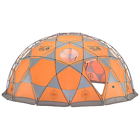 Camp and Hike Free Shipping. Mountain Hardwear Space Station 15 Person Tent The SPECS Capacity: 15 Person Minimum Weight: 68 lbs 11 oz / 31.07 kg Pitch Type: Non-Freestanding Packed Weight: 70 lbs 14 oz / 32.07 kg Floor Area: 28.7 square meter / 309 square feet Interior Pick: 101in. / 257 cm Pole Num: 15 Doors: 3 Packed Dimension: 24 x 39in. / 60 x 99 cm Canopy: 20D Nylon Knit Mesh; 180D Nylon Taffetta 1500mm PU/SIL (100% nylon); (100% nylon) Fly: 180D Nylon Taffetta 1500mm PU/SIL (100% nylon) Poles: DAC Pressfit poles - $4,999.95