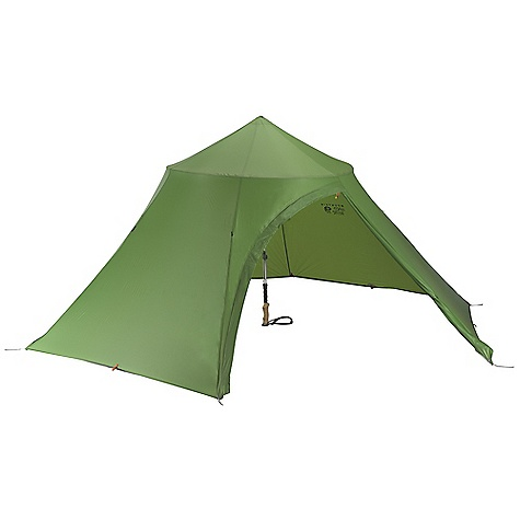 Camp and Hike Free Shipping. Mountain Hardwear Hoopla 4 Person Tent The SPECS Capacity: 4 Person Minimum Weight: 1 lb 16 oz / 0.90 kg Pitch Type: Freestanding Packed Weight: 2 lbs 3 oz / 1.00 kg Floor Area: 5.9 square meter / 64 square feet Interior Pick: 50in. / 127 cm Pole Num: 1 Doors: 1 Packed Dimension: 5 x 17in. / 13 x 43 cm Canopy: 15D Poly Knit Mesh (100% polyester) Fly: 20D Nylon Ripstop 1500mm PU/SIL (100% nylon) Poles: DAC Featherlight NSL poles - $349.95