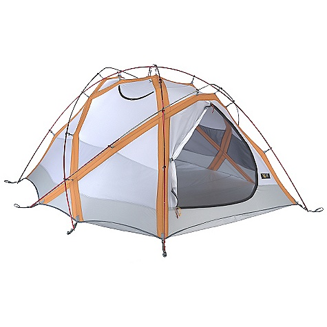 Camp and Hike Free Shipping. Mountain Hardwear Trango 3.1 Tent DECENT FEATURES of the Mountain Hardwear Trango 3.1 Tent Industry leading DAC Featherlight NSL poles Guaranteed watertight construction with fully taped fly, taped perimeter seam, welded corners and welded guy clip anchors Rain room tested with 1200in. of rain in 24 hours Proprietary Evolution Tension Arch stabilizes tent using fewer poles Two dry entry vestibules Two dual canopy and mesh doors Pitch Light configuration allows user to set up a super light shelter using only the tent fly, poles and footprint (sold separately) 2 Tension Shelves SVX window for a brighter interior and visibility of exterior conditions Welded guy clip anchors Internal guy system Reflective guy-out loops, starter point and zipper pulls for easy set-up at night Welded zipper flap construction is lighter and drier than a sewn flap Watertight door zippers Reflective zipper pulls Mesh storage pockets Mesh and canopy zippered thru-vent Superlight 1/4in. buckles and webbing reduce tent weight Reflective starter point Gear can be stored off the floor using canopy pockets or a accessory gear lofts (sold separately) The SPECS Capacity: 3 Person Pitch Type: Freestanding Minimum Weight: 10 lbs 10 oz / 4.82 kg Pitchlight Weight: 7 lbs 15 oz / 3.59 kg Floor Area: 48 square feet / 4.5 square meter Canopy: 40D Nylon Ripstop DWR (100% nylon)/20D Nylon Knit Mesh (100% nylon) Reinforcement: 75D Polyester SD Ripstop 600mm PE Fly: 70D Nylon Taffeta 1500mm PU/SIL Floor: 70D Nylon Taffeta 3000mm PE Poles: DAC Featherlight NSL Packed Weight: 11 lbs 8 oz / 5.21 kg Vestibule Area: 18+5 square feet / 1.7+0.6 square meter Interior Peak: 48in. / 122 cm Number of Pole: 5 Doors: 2 Vestibules: 2 Packed Size: 8in. x 24in. / 22 x 61 cm - $699.95