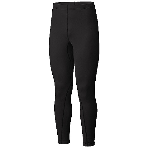 Free Shipping. Mountain Hardwear Men's Micro Power Stretch Full Length Tight DECENT FEATURES of the Mountain Hardwear Men's Micro Power Stretch Full Length Tight Polartec Micro Power Stretch fabric is soft, lightweight, wicking, and fast-drying with four-way stretch for movement Flat-lock seams are rotated away from abrasion areas for comfort Elastic waistband for comfort The SPECS Average Weight: 6 oz / 174 g Inseam: 29in. / 74 cm Body: Polartec Micro Power Stretch (90% polyester, 10% elastane) - $69.95