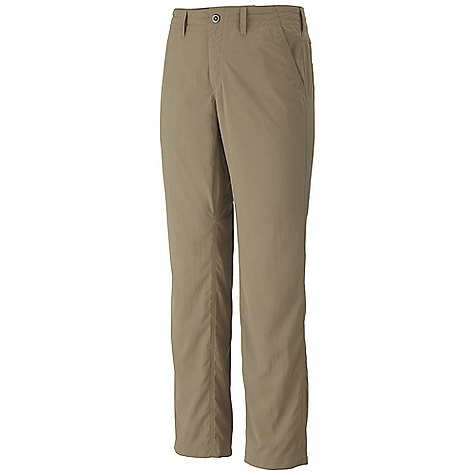 Free Shipping. Mountain Hardwear Men's Setter Pant DECENT FEATURES of the Mountain Hardwear Men's Setter Pant 4-way stretch panels and inseam gusset for mobility Lots of pockets for storage Durable, wicking, fast-drying fabric DWR finish repels water The SPECS Average Weight: 9 oz / 258 g Inseam: 30, 32, 34in. / 76, 81, 86 cm Body: New heights Slub (100% nylon) Panel: Switchback plus (85% nylon, 15% elastane - $69.95
