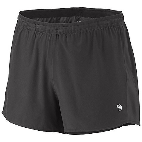 Free Shipping. Mountain Hardwear Men's Ultrarefuel Short DECENT FEATURES of the Mountain Hardwear Men's Ultrarefuel Short Wicking, fast drying fabric Soft elastic waist band with drawstring adjustment Back pocket for storage Inner brief with wicking and antimicrobial finish Micro perforations on yoke for ventilation Reflective trim for visibility DWR finish for quick drying The SPECS Apparel Fit: Semi-Fitted Average Weight: 3.7 oz / 104 g Center Back Length: 3.5in. / 9 cm Body: 4-Way Stretch plain Weave (86% polyester, 14% elastane) - $49.95