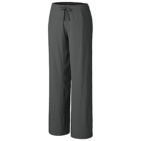 Free Shipping. Mountain Hardwear Women's Yumalina Pant DECENT FEATURES of the Mountain Hardwear Women's Yumalina Pant Durable, 4-way stretch fabric for movement Full lined with microfleece for added warmth Full length inseam gusset for mobility Soft drawcord at waist for easy fit adjustments DWR finish repels water The SPECS Average Weight: 15 oz / 435 g Inseam: 30, 32, 34in. / 76, 81, 86 cm Body: Switchback Plus (85% nylon, 15% elastane) Lining: Micro Fleece Lining (100% polyester) - $79.95