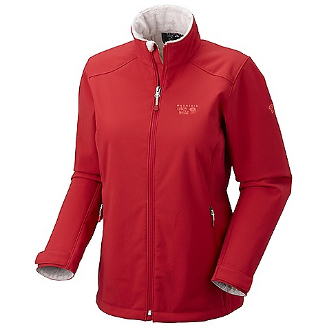 On Sale. Free Shipping. Mountain Hardwear Women's Amida Jacket DECENT FEATURES of the Mountain Hardwear Women's Amida Jacket High-pile Velboa Raschel fleece lining for exceptionally soft warmth Zippered hand warmer pockets One-handed hem drawcords for quick fit adjustments Fleece lined chin guard eliminates zipper chafe The SPECS Average Weight: 1 lb 4 oz / 577 g Center Back Length: 26.5in. / 67 cm Body: Women's Air Shield Velboa Soft shell (88% nylon, 12% elastane) - $122.99