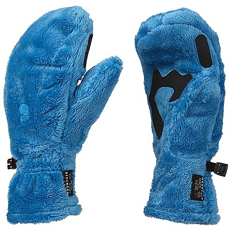 On Sale. Mountain Hardwear Women's Monkey Mitt DECENT FEATURES of the Mountain Hardwear Women's Monkey Mitt Designed to fit a woman's smaller hand proportions Soft, warm long-pile fleece blocks wind and cold and provides a high warmth-to-weight ratio Articulated cut for dexterity Welded palm and finger patches add wear resistance and enhance grip Wear alone or use as a spare liner with compatible system gloves or mitts The SPECS Average Weight: 2 oz / 58 g Body: Double Shot velboa (100% polyester) - $23.99