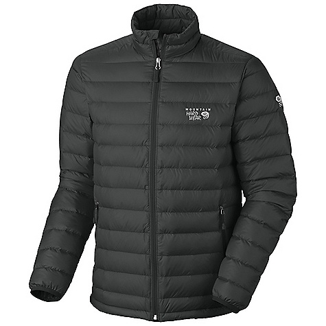 On Sale. Free Shipping. Mountain Hardwear Men's Nitrous Jacket DECENT FEATURES of the Mountain Hardwear Men's Nitrous Jacket Quilted construction holds insulation in place Two front handwarmer pockets Dual hem drawcords seal in warmth Jacket stows in pocket Full elastic cuffs slide easily over layers to seal in warmth Micro-Chamois-lined chin guard prevents zipper chafe The SPECS Apparel Fit: Standard Average Weight: 12 oz / 340 g Center Back Length: 28in. / 71 cm Body: 30d hi-Five ripstop (100% nylon) Insulation: 800-fill goose Down - $158.99
