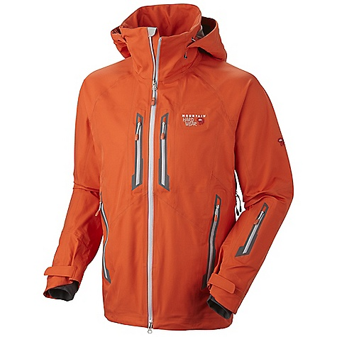 On Sale. Free Shipping. Mountain Hardwear Men's Snowtastic Jacket DECENT FEATURES of the Mountain Hardwear Men's Snowtastic Jacket Total waterproof protection Attached, adjustable, helmet compatible hood Removable, adjustable, stretch powder skirt Pit zips for additional ventilation New design Plenty of interior pockets for all your gear Soft, in.Butter Jerseyin. cuffs Zip handwarmer and chest pockets One-handed hood and hem drawcords for quick adjustments Micro-Chamois-lined chin guard eliminates zipper chafe The SPECS Average Weight: 1 lb 15 oz / 878 g Center Back Length: 30in. / 76 cm Body: Synchro NBT (56% polyester, 44% nylon) - $348.99