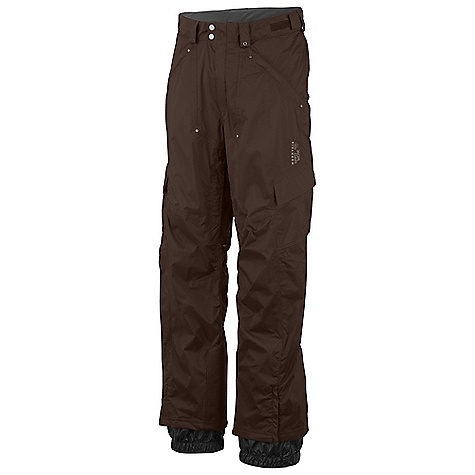 On Sale. Free Shipping. Mountain Hardwear Men's Bomber Cargo Pant DECENT FEATURES of the Mountain Hardwear Men's Bomber Cargo Pant Micro-Chamois-lined adjustable waist for a customized fit Zippered thigh vents for ventilation Internal powder cuffs seal out snow Lower leg zip for easy on-off Zip handwarmer pockets Ambush edge guards at inside lower leg The SPECS Average Weight: 1 lb 9 oz / 709 g Inseam: 30, 32, 34in. / 76 cm Body: 2L Dobby (100% nylon) - $148.99